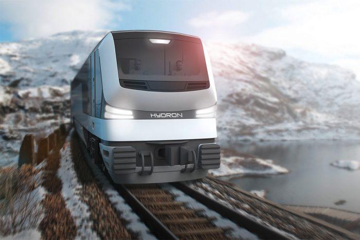 Hydron Designkonzept wasserstoffbetriebene Lokomotive