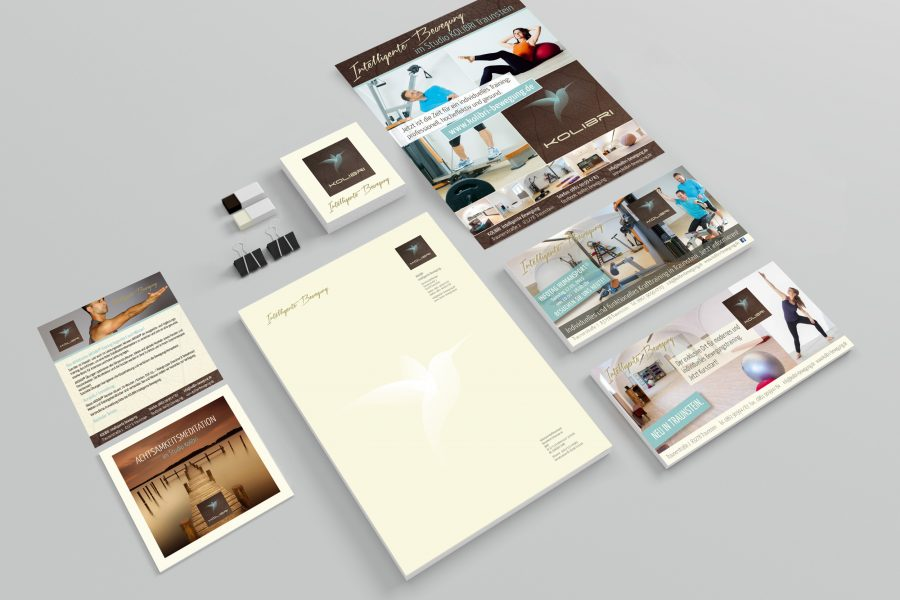 Corporate Design Kolibri Bewegung