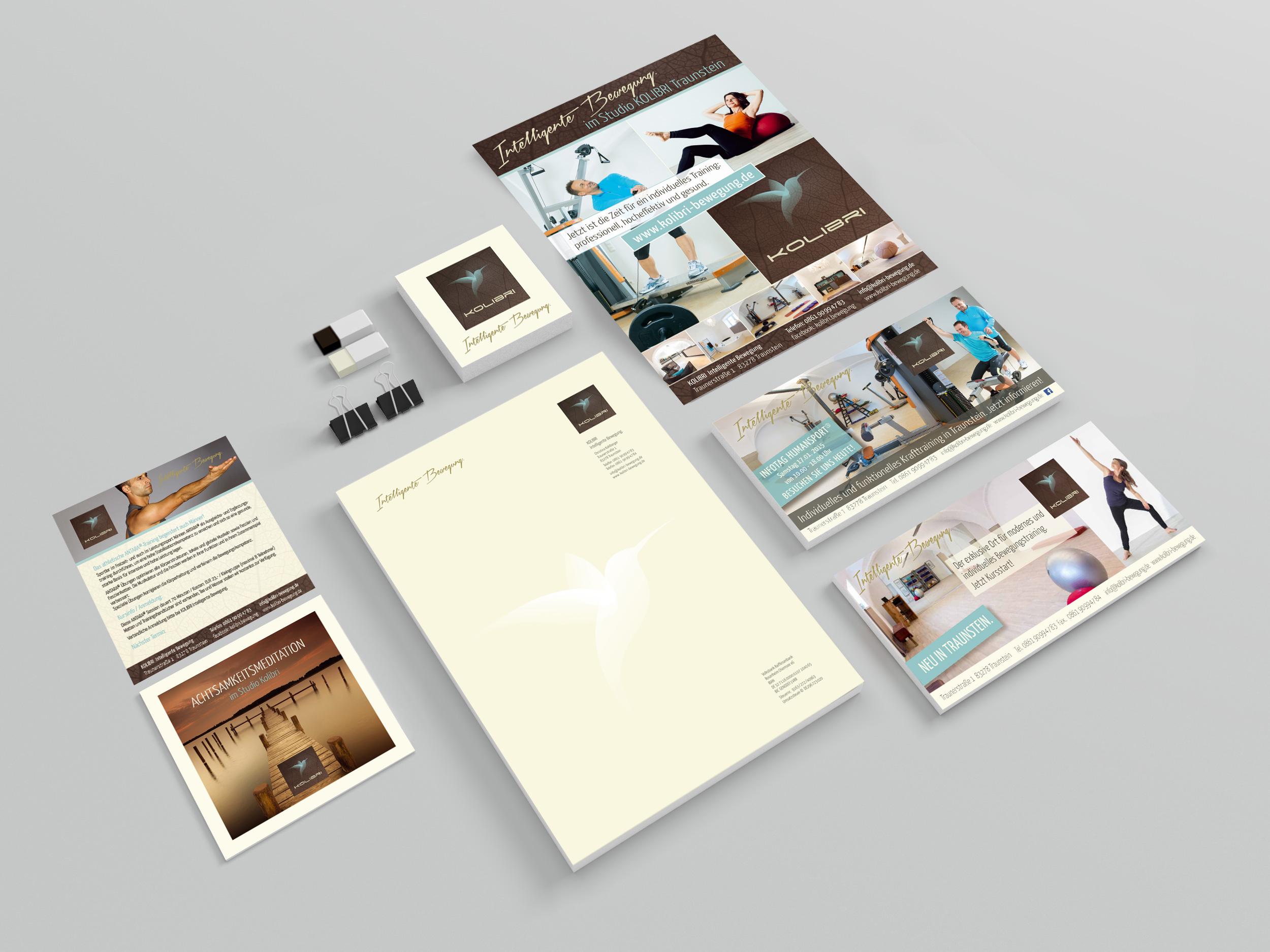 Corporate Design Kolibri Bewegung