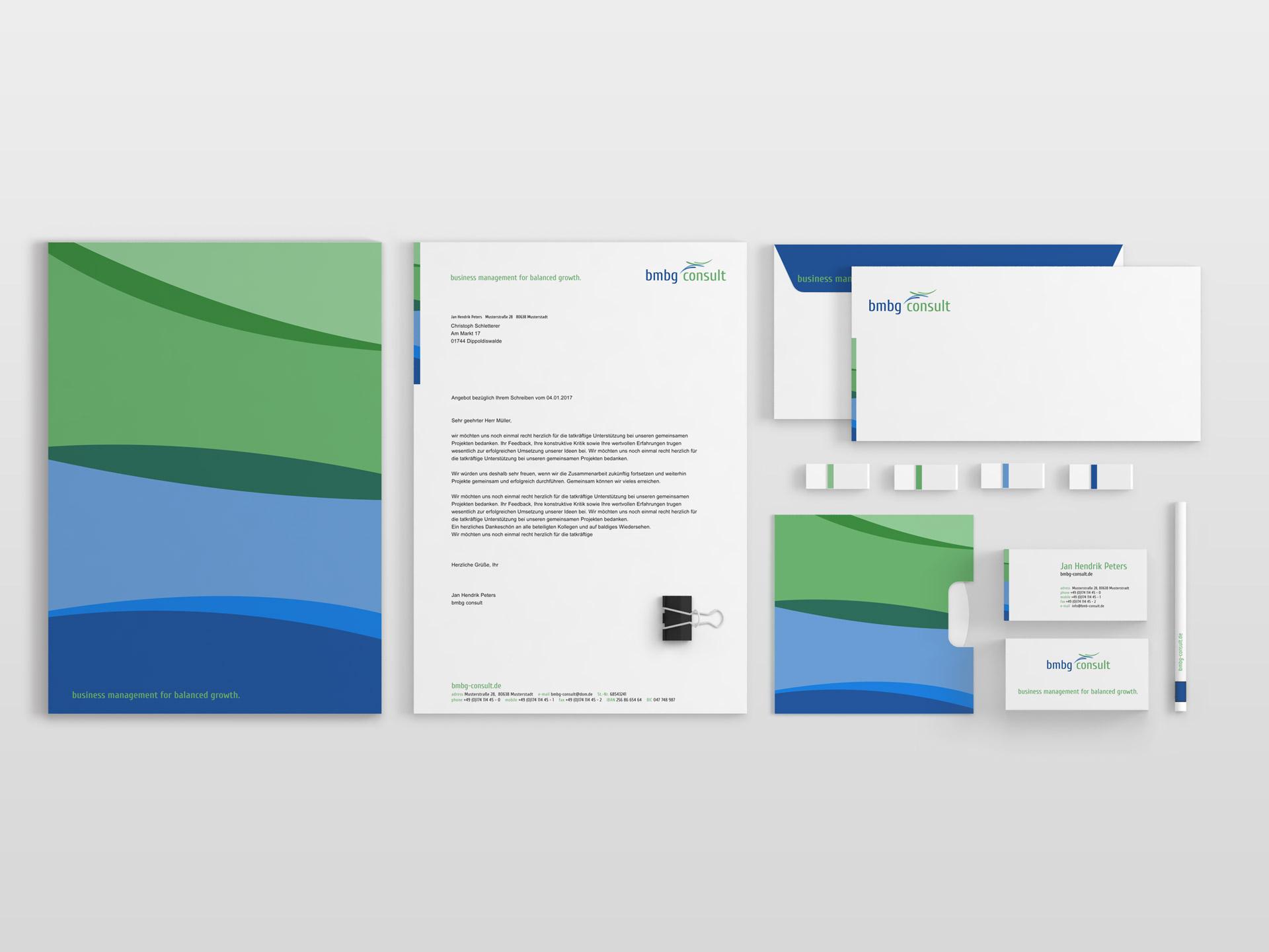 Grafik Design Printmedien bmbg consult