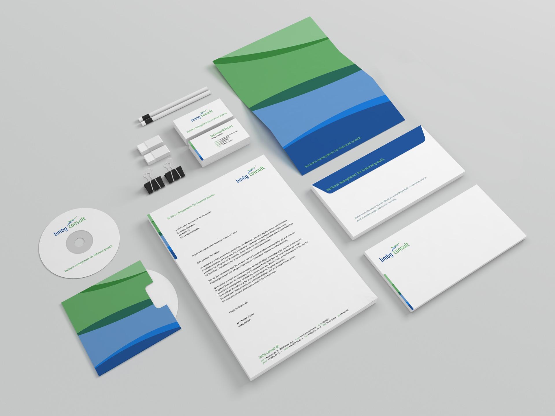 Design Printmedien bmbg consult