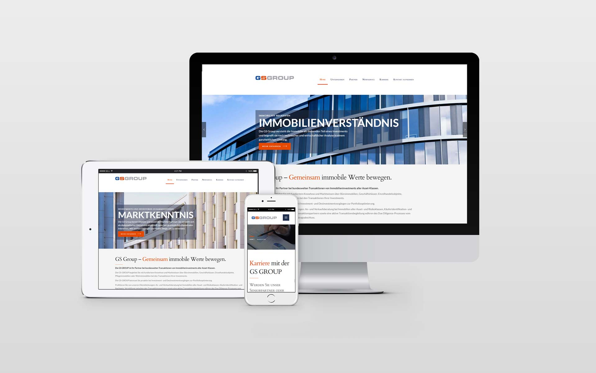 Webdesign Immobilien Consulting by facit design